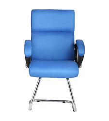 The Claro Visitor Sky Blue Chair