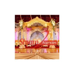 Golden Wedding Designer Mandap