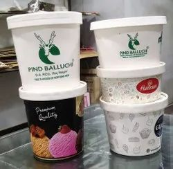 Printed Paper container