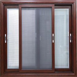 Aluminium Mesh Sliding Window