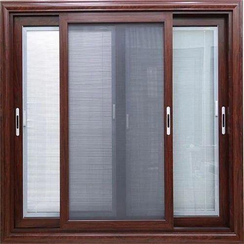 Aluminium Mesh Sliding Window