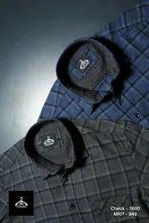 Focus M L XL Mens Check Shirt