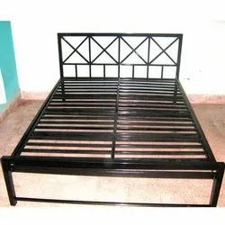 MS Black Double Bed
