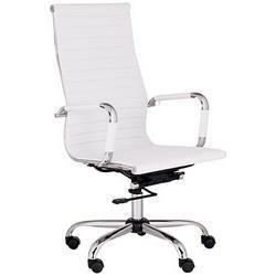 White Color Sleek Chair