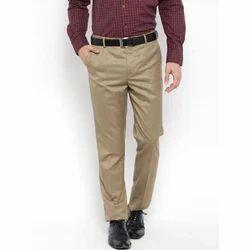 Mens Regular Fit  Formal Trousers