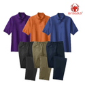 Sirasala Half Sleeves House Keeping Uniform, Size: L