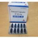 Danazol Capsules IP 100/200/50 mg