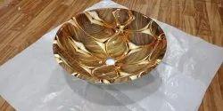 Armano Round Glass bowl, Size: 160x16