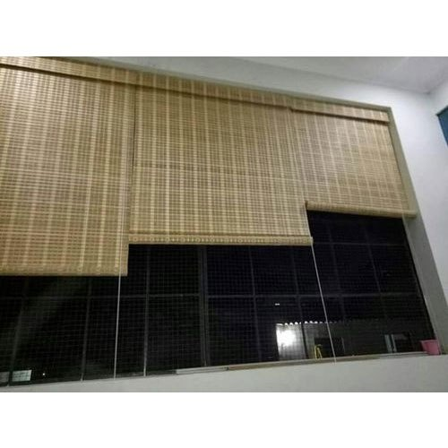 Jute Ractangular Chick Blinds, For Window, 2-3 Mm
