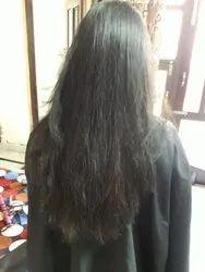 Female Black HAIR SMOOTHENING