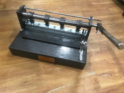 Stainless Steel Manual Spiral Binding Machine