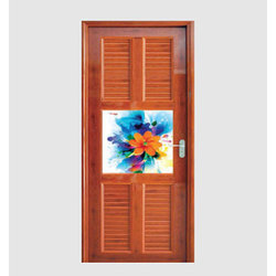 Wood Finish PVC Door