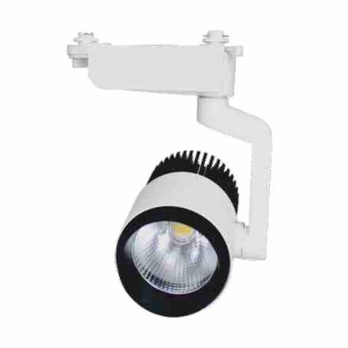 Led Track Lighting India: Ceramic LED Track Light, Usage/Application: Commercial