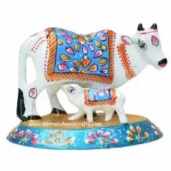 Metal Cow Meena Work