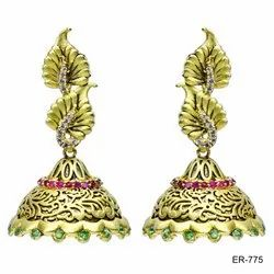 Party Gold Plated Fashion earrings