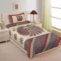 Barmeri Print Single Bed Sheet