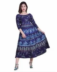 Cotton Printed Jaipuri Frocks