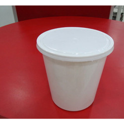 1000 ML Milky Plastic Container