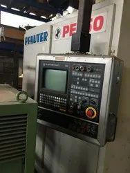 Automatic Vertical Cnc Gear Hobbing Pfauter Machine Pe 150