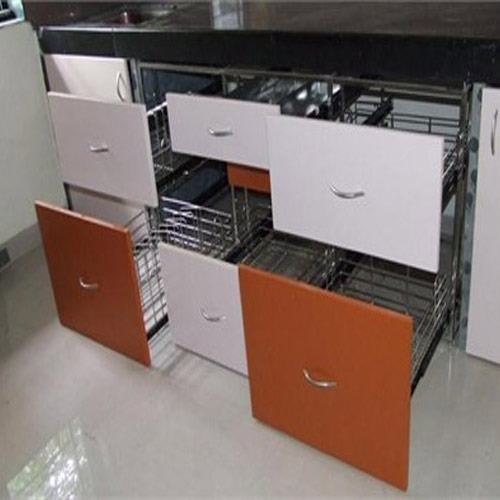 Stainless Steel Modular Kitchen Trolley Rs 3000 Set