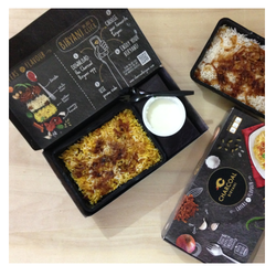 Biryani Packaging Tray