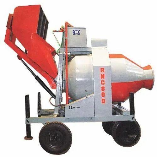 Reverse Concrete Batch Mixer with Electronic Batcher