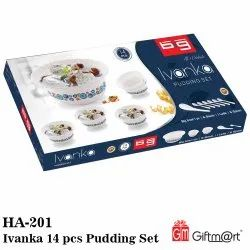 14 pcs Pudding Set