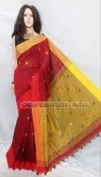Premium quality buti design handloom saree
