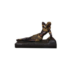 An Ancient Egyptian Queen Statue In Laying Down Position