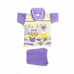 Casual Wear Mix colour Kids Baba Suit