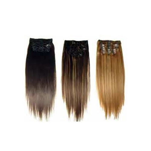 JANGRA Ombre Clip Hair Extensions, Pack Size: 16 Inches, for Parlour