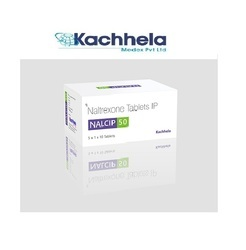 Nalcip 50 Mg (Naltrexone) Tablet