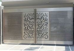 stainless steel gates ss laser cutting gate manufacturer from chennai