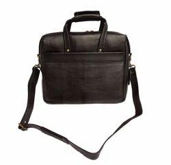 香料艺术黑色男女通用纯皮革黑色产品组合袋,尺寸:37 x 30 x 8厘米