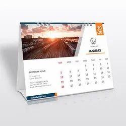 Paper Table Top Calendar Printing, in Pan India, Ahmedabad