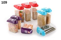 Cereal Dispenser Easy Flow Storage Jar Storage Containers for Kitchen, Idle for Kitchen