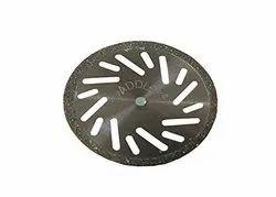 Stainless Steel SS Diamond Disc, Packaging Type: Carton Box