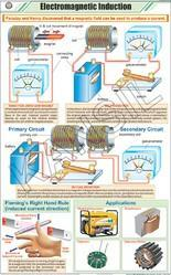 Electromagnetic Introduction For Physics Chart