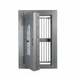 SS, MS Godrej Record Strongroom Door with Grill Gate