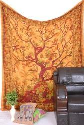 Tree Print Wall Tapestry