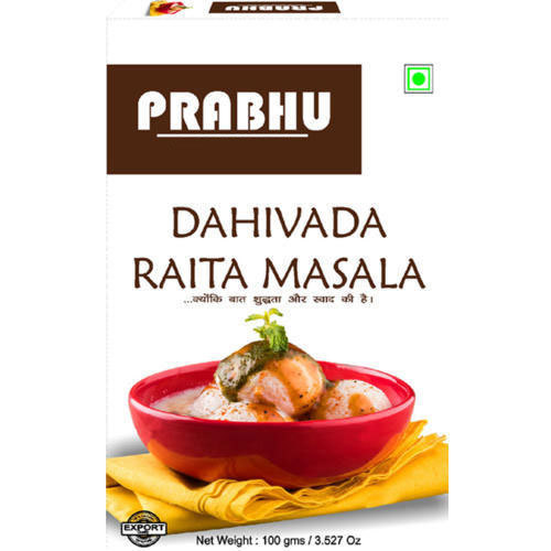 Prabhu 20 kg Dahi Vada Raita Masala, Packaging: Packet