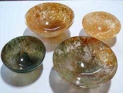 Agate Gemstone Semi Precious Stone Bowls