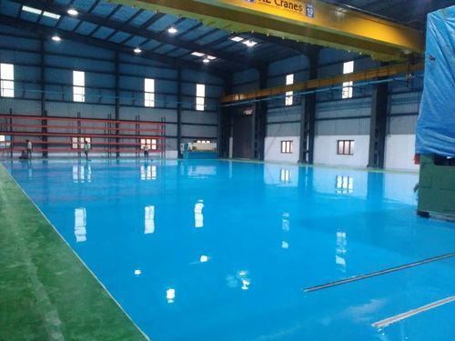 High Gloss Epoxy Coating, For Industrial, Rs 35 /square feet Roto Polymers  And Chemicals   ID: 1163276812