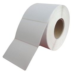 White Plain Barcode Labels, Packaging Type: In Rolls