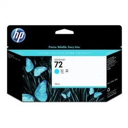 HP 72 130-ml Cyan Design Jet Ink Cartridge (C9371A)