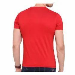 Plain Round Mens Half Sleeve T- Shirt