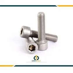 Screw Wala Round, CSK And Button Allen Bolt DIN 912, Grade: SS 202.304,316 And Hi Tensile