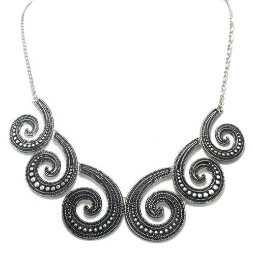 German Silver Designer Necklace