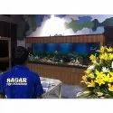 Sagar Commercial Glass Fish Aquarium