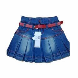 Girls Denim Skirt At Rs 350 Piece Denim Skirts Id 15411492088